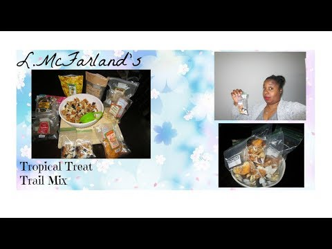Healthy Snacks Tropical Treat Trail Mix