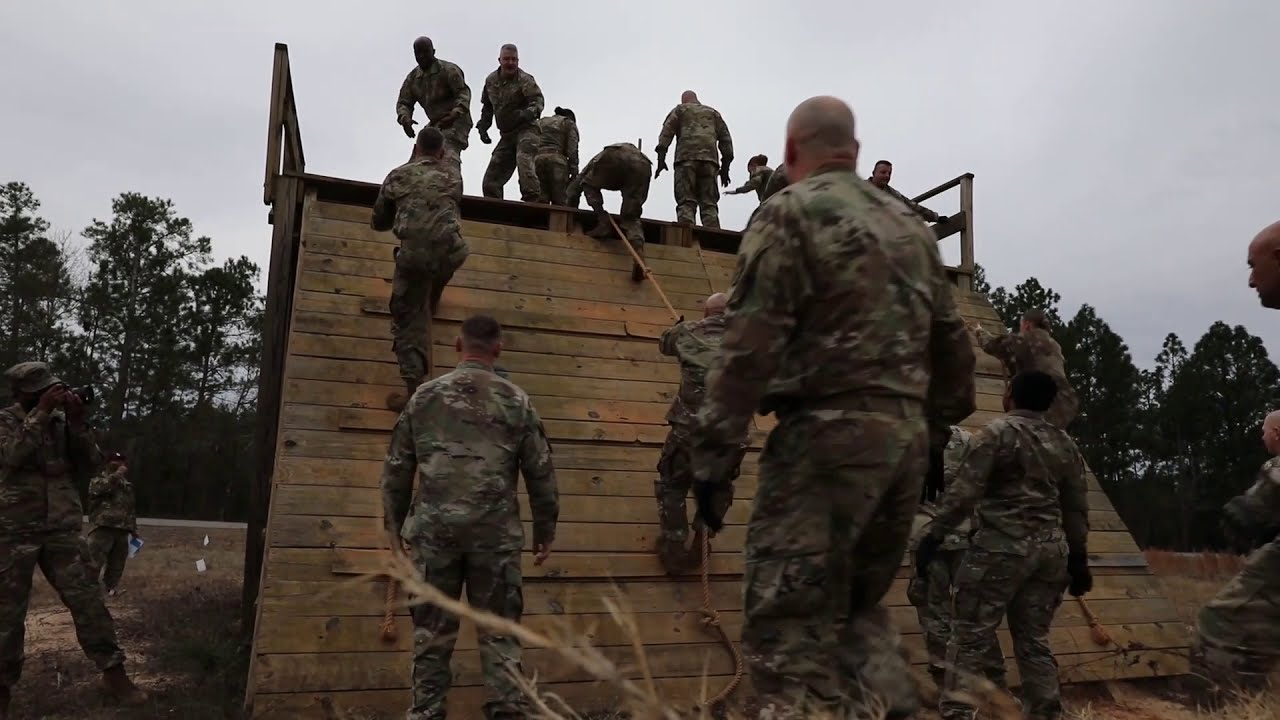US Army • Best Medic Competition • Obstacle Course Validation • Jan. 25-28 2020