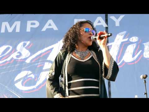 Dawn Tyler Watson 2017 04 09 St. Petersburg, Florida - Tampa Bay Blues Festival