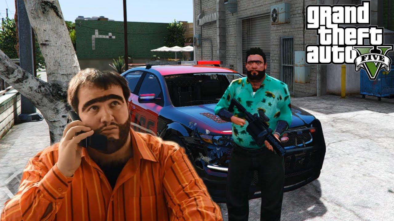 GTA V Modları - RECEP İVEDİK POLİS MODU!