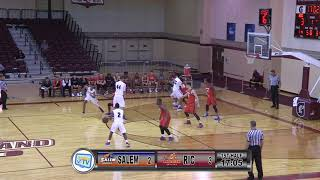 RIC Men's Basketball vs Salem State 11/28/17