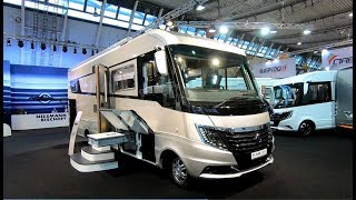 Flair 920 LE luxus motorhome camper new model clou line Iveco 70C 21 walkaround and interior K71