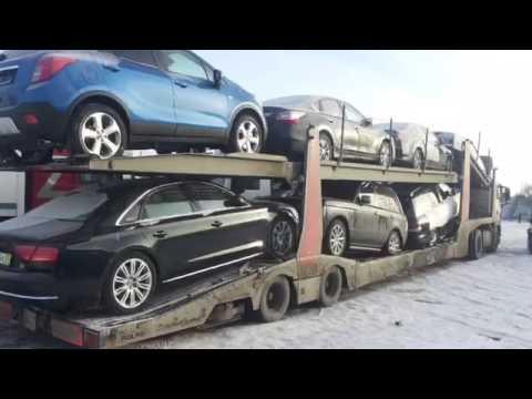 Перевозка автомобилей из Москвы в Казахстан