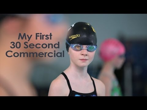 Creating a 30 second Commercial - What I Learned