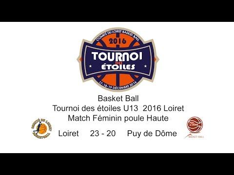 5-Basket TDE 2016 U13F M61 Loiret 23 - 20 Puy de Dôme