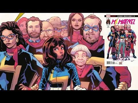 MS. MARVEL Is A Comic Book For 30 Year-Olds Who Still Watch The Disney Channel
