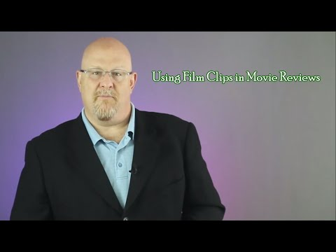 Using Film Clips in Movie Reviews - Entertainment Law Asked