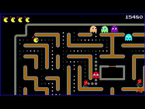 Jr Pacman - Pacman5 (Levels 1,2,3)