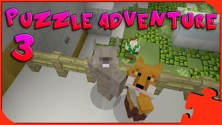 Minecraft Xbox - Puzzle Adventure - Triplicity The Overgrown Facility [3]