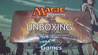 Magic The Gathering: Relic Tokens Eternal Collection Unboxing