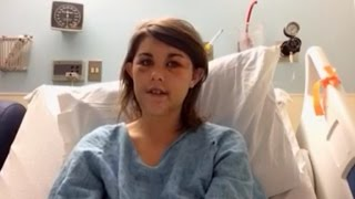 Survivor of Domestic Abuse Performs Heartbreaking Song From Hospital Bed