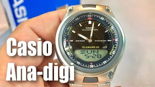Casio AW80D-1AVCB 10-Year Battery Ana-Digi Bracelet Watch review and giveaway