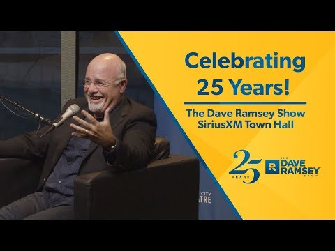 Celebrating 25 Years of The Dave Ramsey Show! - SiriusXM Town Hall