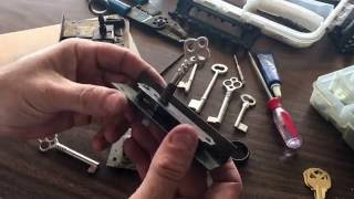 Antique Desk Locks & Keys ~ Discussing the different types, key making & lock repairing