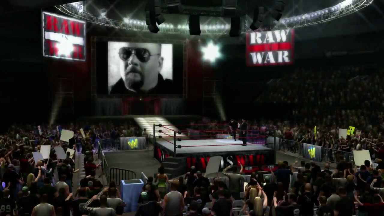 WWE '13: Big Bossman Entrance [HD - Official] - Here's the official Entrance in WWE '13 for The Big Bossman