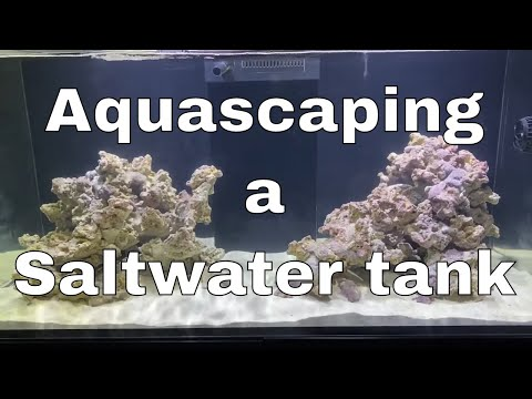 Week 3: How to Aquascape a Saltwater tank | Red Sea Reefer XL 425 Build