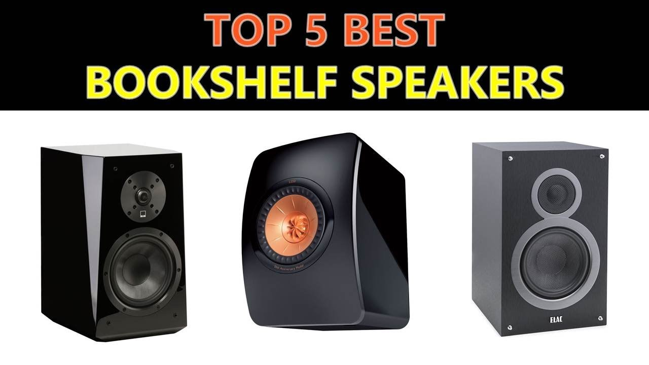 Best Bookshelf Speakers 2018