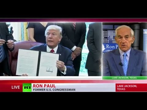 'It's a terrible thing' - Ron Paul on newly-signed US anti-Russian sanctions