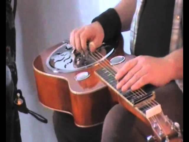 Pete Fidler, Ruth Hazleton & Bill Jackson Rehearsing 'Interstate 24' (The Austin Motel, TX 2008)