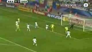 Goles Arabia Saudita - Ucrania