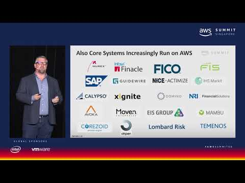 AWS Summit Singapore - Core FSI Workloads on the Cloud