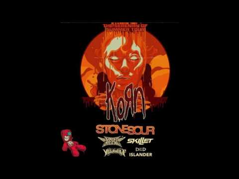 Korn, Stone Sour, BABYMETAL, Skillet, Yelawolf, Ded & Islander tour!
