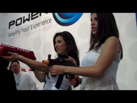 Classic Game Room E3 Report: RAPID SHOT Nintendo Wii Machine Gun