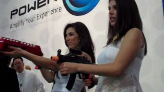 Classic Game Room E3 Report: RAPID SHOT Nintendo Wii Machine Gun