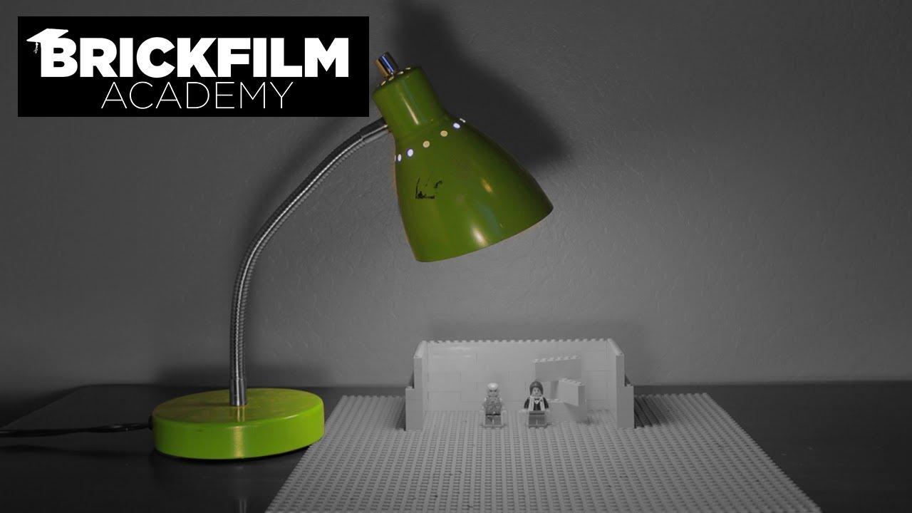 Brickfilm Academy 3  Stopmotion Lighting Basics
