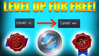 How to Level Uṗ on Steam For FREE in 2020!