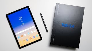Samsung Galaxy Tab S4 Unboxing & Hands On