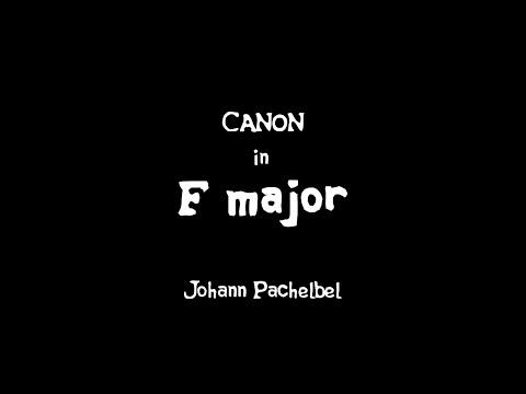 Canon in F major
