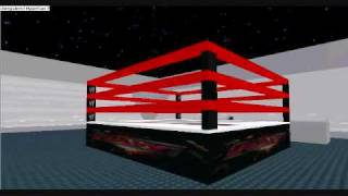 Visite du Monday Night Raw Stadium (Roblox)