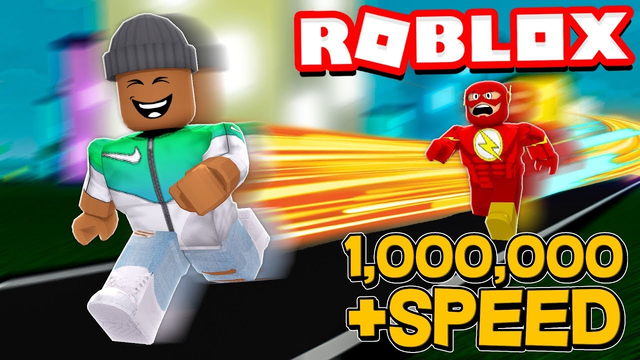 1,000,000 SPEED in Roblox Legends of Speed!!