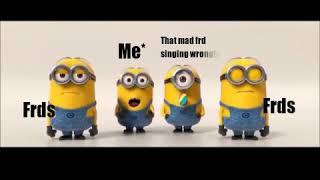 Minions    funny Whatsapp status video   