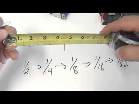 How To Read Tape Measure