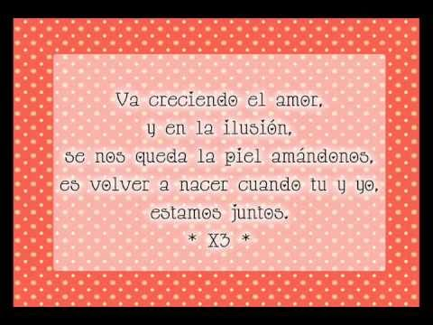 Chayanne - Volver a nacer (Letra)