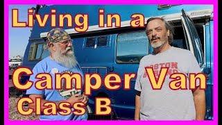 Living in a Class B Dodge Camper Van
