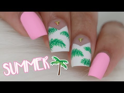 TROPICAL SUMMER NAILS
