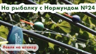 Ловля на штекер : На рыбалку с Нормундом #24