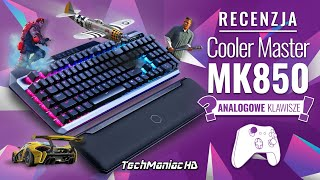 Klawiatura z pomiarem głębokości wciśnięcia klawisza?!  CoolerMaster MK850