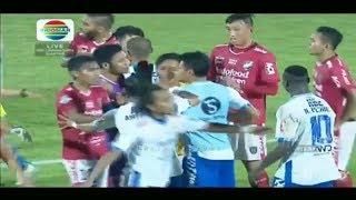 Keributan di Akhir Laga Persib Vs Bali United