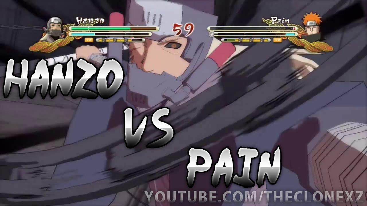 Hanzo vs. Pain - Naruto Shippuden Ultimate Ninja Storm 3 ...