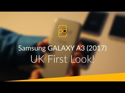 Samsung GALAXY A3 (2017) - UK First Look!