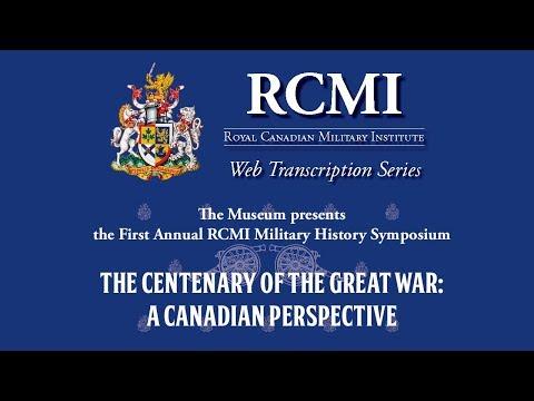 2017 Military History Symposium: Dr. Jack Granatstein on Conscription 1917