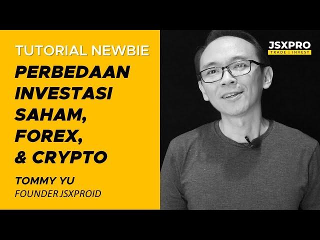 perbedaan trading bitcoin dengan forex