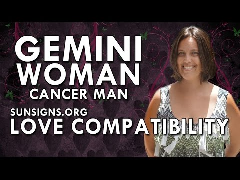 Gemini Woman Cancer Man – A Changing Relationship
