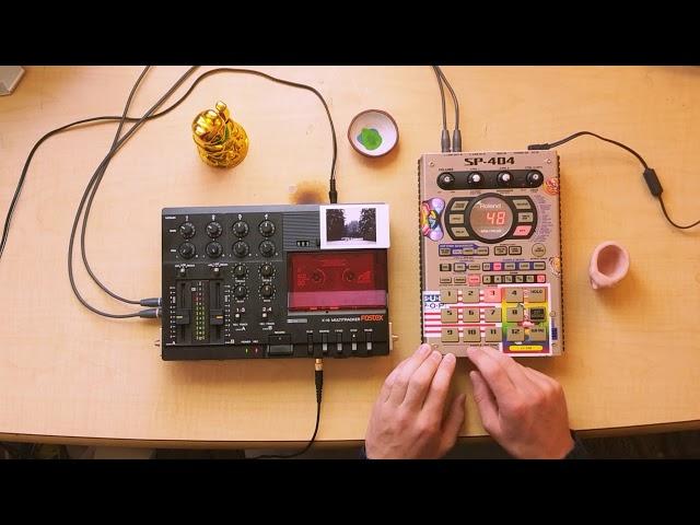 SP-404 live flip/remix (Poison--Bel Biv DeVoe)