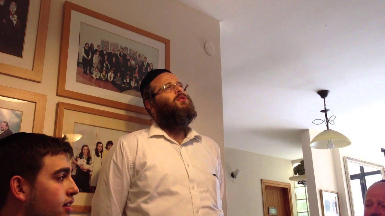 השבעתי אביאל ודדי גראוכר עם דודי קאליש Aviel and Dedi Graucher singing hishbati with dudi kalish