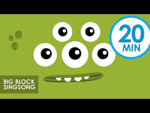 Big Block Singsong | Animals & Creatures (Part 2) | 20 min